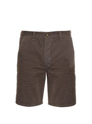 Rag And Bone Loose Fit Brushed Cotton Shorts