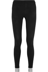 No Ka' Oi Ka'oi Stretch Jersey Leggings Black