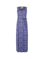 White Stuff Mexico City Jersey Maxi Dress Blue