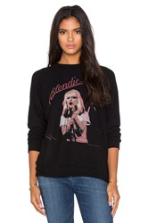 Lauren Moshi Lovie Blondie Boyfriend Pullover Black
