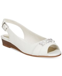 Easy Street Shoes Easy Street Imprompt Slingback Wedge Sandals Women's Shoes