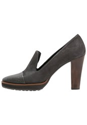 Zinda High Heels Grey Anthracite