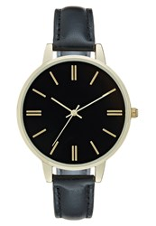 Kiomi Watch Black Goldcoloured