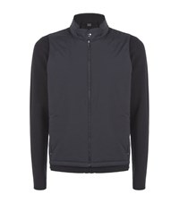 Z Zegna Layered Zip Up Sweatshirt Male