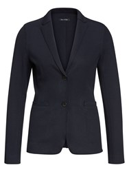 Marc O'polo Jersey Blazer Trench Coat Style Blue
