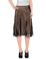 Jucca 3 4 Length Skirts Cocoa