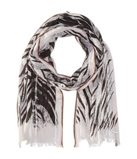 Diesel 00Sjxj 0Tahw Saiful Scarf Off White Scarves Gray
