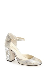 Bettye Muller 'Bejeweled' Pump Women Gold