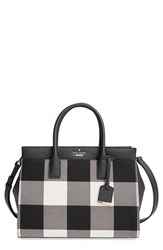 Kate Spade New York 'Cameron Street Plaid Candace' Satchel