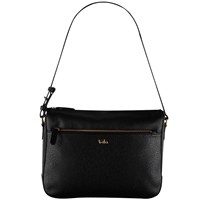 Tula Rye Leather Shoulder Bag Black