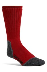 Men's Wigwam 'Merino Lite' Hiker Socks Chili Pepper