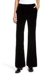 Theory Women's Caroleena Flare Leg Velvet Pants