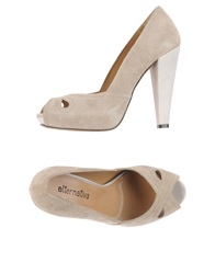 Alternativa Pumps Beige