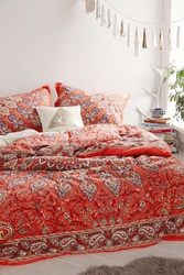 Plum And Bow Avani Medallion Comforter Coral