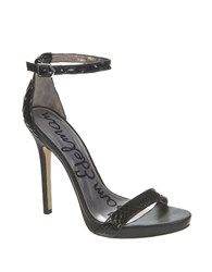Sam Edelman Eleanor Leather Stilettos Black