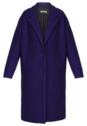 Just Cavalli Classic Coat Blue