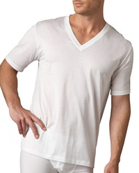 Hanro Sporty V Neck Tee