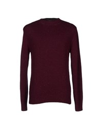 A.P.C. Knitwear Jumpers Men Maroon