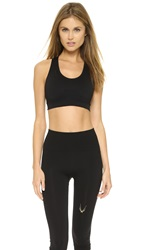 Lucas Hugh Technical Knit Sports Bra Black
