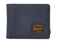 Herschel Hank Dark Denim 2 Wallet Handbags Black