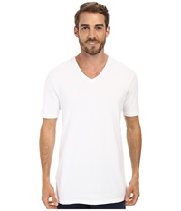 Lacoste Pique Lounge Short Sleeve Pique White Men's Short Sleeve Pullover