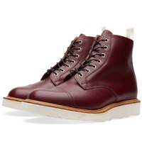 Mark Mcnairy Vibram Sole Derby Boot Burgundy