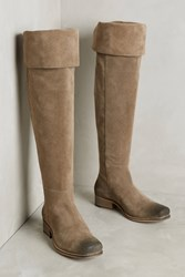 Anthropologie Seychelles Pride Over The Knee Boots Taupe