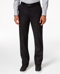 Sean John Men's Black Linen Dress Pants Pm Black