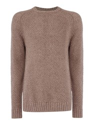 Label Lab Men's Absinthe Crew Neck Knit Ecru