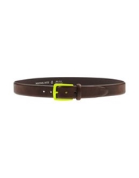 Manuel Ritz Belts Dark Brown