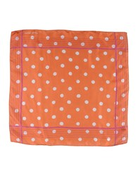 Jacob Cohen Jacob Coh N Square Scarves Rust