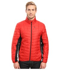 Spyder Rebel Insulator Jacket Red Black Men's Coat