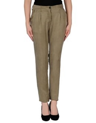 Novemb3r Casual Pants Military Green