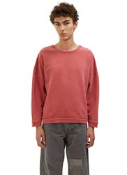 Olderbrother Crew Neck Jersey Sweater Red