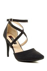 Elegant Footwear Allen Crisscross Pump Black