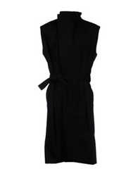 Gareth Pugh Full Length Jackets Black