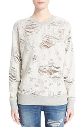 Women's Iro 'Kismet' Burnout Sweatshirt