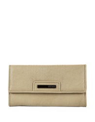 Kenneth Cole Reaction Never Let Go Trifold Flap Clutch Putty