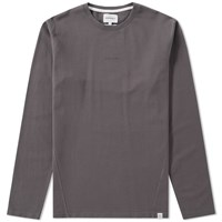 Norse Projects Long Sleeve James Dry Cotton Tee Grey