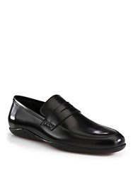 Harry's Of London Downing Gloss Loafer Black Purple