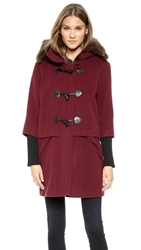 Rebecca Minkoff Scotch Coat Oxblood
