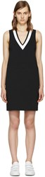 Rag And Bone Black White Ainsley Knit Dress