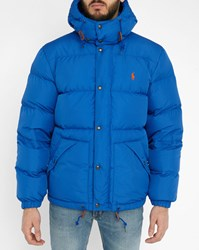 Polo Ralph Lauren Royal Blue Retro Down Jacket
