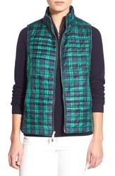 Women's Vineyard Vines 'Holiday Plaid' Quilted Vest