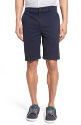 Men's Paige Premium Denim 'Thompson' Slim Fit Shorts Navy Cadet