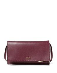 Lauren Ralph Lauren Newbury Mini Crossbody Bag Claret