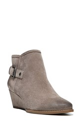 Franco Sarto Women's 'Wichita' Wedge Bootie Taupe Suede