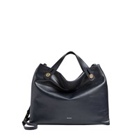Skagen Swh0184496 Ladies Mikkeline Satchel Bag Navy