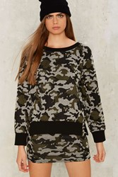 Come Apart Camo Sweatshirt Multi