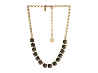 Kate Spade Squared Away Necklace Jet